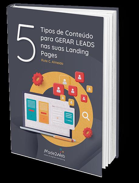 Ebook 5 Tipos de Conteúdo para gerar Leads