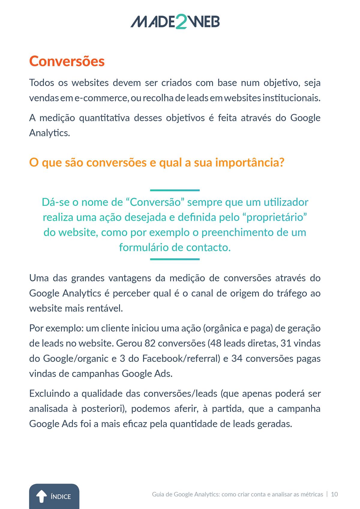 Guia Google Analytics